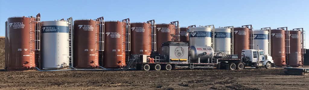 Big Bear Energy Services Super Heating a Tank Farm